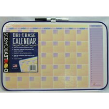 Assorted Designs Calendar Dry Erase Wall Mounted Graphic/Grid Whiteboard, 1' x 1'