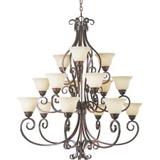 Manor 15-Light Chandelier