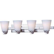 Conical 4-Light Bath Vanity