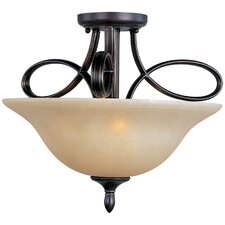 Infinity 3-Light Semi-Flush Mount