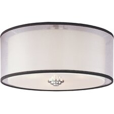 Orion 3-Light Flush Mount