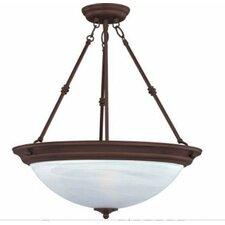 Essentials 3-Light Invert Bowl Pendant