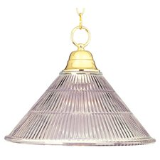 1-Light Invert Bowl Pendant
