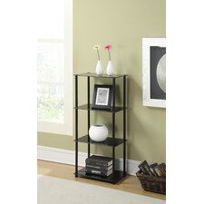 "Midnight Tower 39"" Accent Shelves"