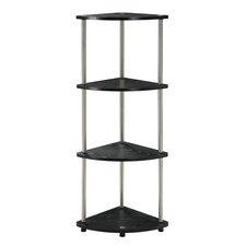 4 Tier Corner Shelf 48'' Corner Unit