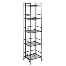 5 Tier Folding Shelf 57.625'' Accent Shelves