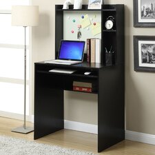 Designs2Go Computer Desk with Magnetic Bulleting Board