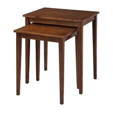 American Heritage 2 Piece Nesting Tables
