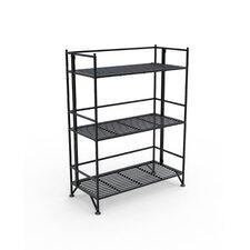 "XTRA Storage 3 Tier Wide Folding Shelf 32.875"" Accent Shelves"