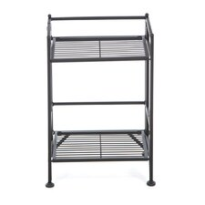 2 Tier Folding Shelf 20.5'' Accent Shelves