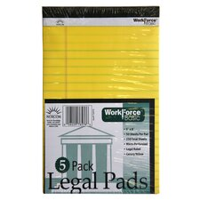 50 Sheets Legal Pads 5 Count