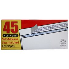 45 Count Security Lined Envelopes