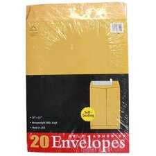 20 Count Kraft Envelopes (Set of 6)