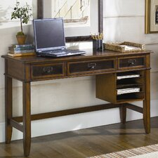 Mercantile Computer Desk with Keyboard Tray and 3 Drawer