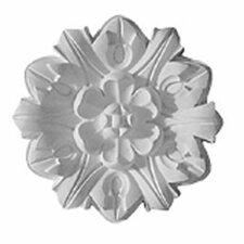 """Emery Leaf 7.63""""H x 7.63""""W x 1""""D Ceiling Medallion"""