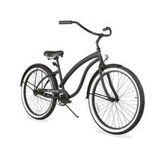 "Women's Firmstrong Bella Fashionista 26"" Single Speed Beach Cruiser Bicycle"