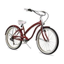 "Women's Firmstrong Bella Fashionista 26"" Seven Speed Beach Cruiser Bicycle"