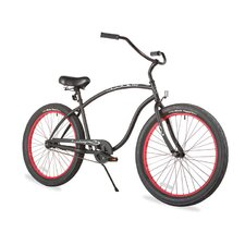 """Men's Firmstrong Chief 3.0 26"""" XX-Large Single Speed Beach Cruiser Bicycle"""