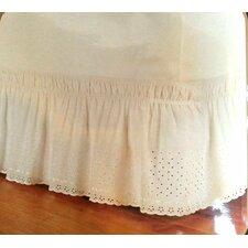 Eyelet Wrap Around Bed Skirt