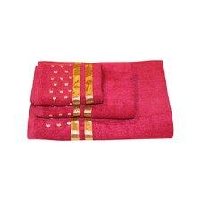 Darla Polka Dots 3 Piece Towel Set