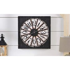 Antique Square Wall Clock