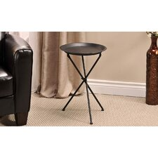 Metal Folding End Table