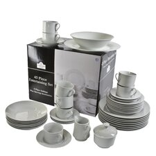 Round 45 Piece Dinnerware Set