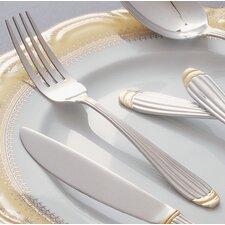 Parisian Gold Stainless Steel Dinner Fork (Set of 4)
