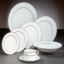 Silver Double Line Dinnerware Collection
