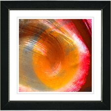 """Orange Crush"" by Zhee Singer Framed Fine Art Giclee Painting Print"