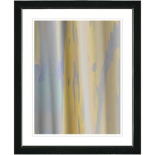 """Yellow Flow"" by Zhee Singer Framed Fine Art Giclee Painting Print"