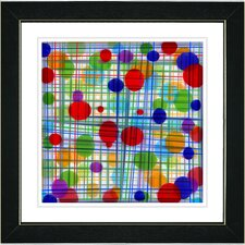 """Quirk Series"" by Zhee Singer Framed Fine Art Giclee Painting Print"