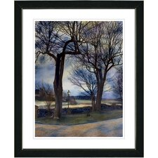 """Country Lane"" by Mia Singer Framed Fine Art Giclee Photographic Print"