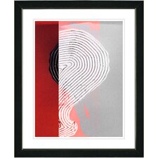 """Signature"" by Zhee Singer Framed Fine Art Giclee Painting Print"