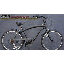 Men's Modena EX Alloy Shimano 7-Speed Beach Cruiser Bike