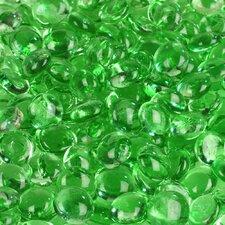 5 lbs of  Glass Gems in Light Green