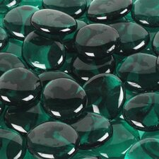 5 lbs of  Glass Gems in Aqua Green