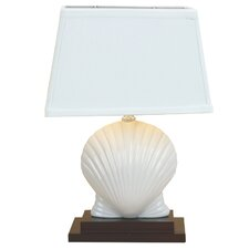 "15.5"" H Table Lamp with Rectangular Shade"