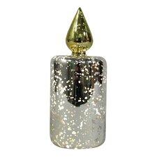 Mercury Glass LED Decor