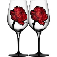 Tattoo Wine Glass (Set of 2)