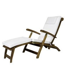 Java Teak Outdoor Steamer Cushion