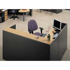 Unity Series L-Shape Reception Desk