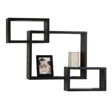 3-Piece Interlocking Wall Cubes and Frame Set