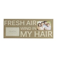2-Opening 'Fresh Air' Wall Plaque