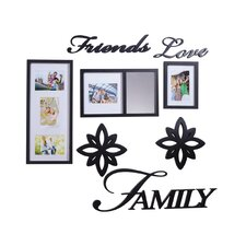 8-Piece 'Friends Love and Family' Decorator Set