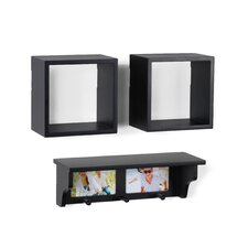 3-Piece Shelf Set