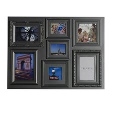 7 Opening Multiple Profile Collage Picture Frame
