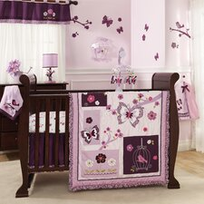 Plumberry 5 Piece Crib Bedding Set