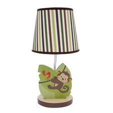 "Jungle Buddies 10.5"" H Table Lamp with Empire Shade"