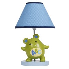 "Alpha Baby 15"" H Table Lamp with Empire Shade"